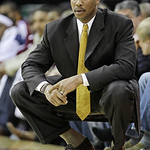 Cleveland Cavaliers coach Byron Scott during the first quarter in an NBA basketball game against the Chicago Bulls on Wednesday, Dec. 8, 2010, in Cleveland. Chicago won 88-83. (AP Photo/Tony ...
