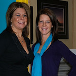 Tracy Adkins and Heather Cachat of The Sun Store.
