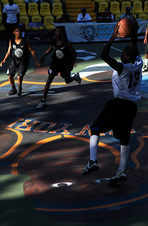 the Rucker Park basketball