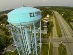 water tower mid Drone