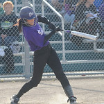 Bee Shaw of Keystone hits an RBI double in first inning of Lorain County All Star game June 5. Steve Manheim