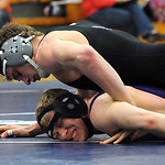 Midview Zach Frambach defeats Avon Brandon Blakely in 170 wt. class at Midview Jan. 31. Steve Manheim