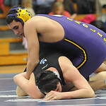 Avon Hamza Kirresh pins Midview David Craftcheck in 182 wt. class Jan. 31.  Steve Manheim