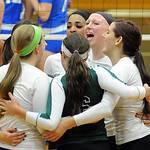 EC volleyball wins West Shore Conference title on Oct. 9.  Steve Manheim