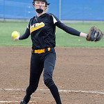 Black River pitcher Dagmar Smith Apr. 16.   Steve Manheim