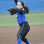Clearview pitcher Sarah Kaya Apr.16.  Steve Manheim