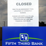 Fifth Third Bank closed due to robbery at Broad St. location on Aug. 9.   Steve Manheim