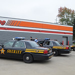 Lorain County Sheriff were at the Auzo Zone on North Ridge Rd. after a bank robbery in Lorain on Oct. 2.  Steve Manheim