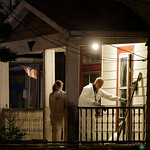 Investigators enter a house on the west side of Cleveland Monday, May 6, 2013 where police say three women were found. The women who went missing separately about a decade ago, when they wer …