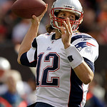 New England Patriots quarterback Tom Brady passes during the first quarter of an NFL football game against the Cleveland Browns, Sunday, Nov. 7, 2010, in Cleveland. (AP Photo/Amy Sancetta)