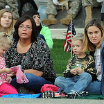 Attendees at the 11th anniversary of 9/11 candlelight service at Ely Square on Sep. 11, 2012.  Steve Manheim