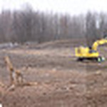 24nov09 bishop— New Cleveland Clinic Avon Location A Panorama of 7 photos stitched together to show the expansive property that will house the new multimillion dollar facility being built  …