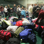 9APR12  EC kids,  56 strong, were dropped off at the high school, were checked in by one of three chaperones.   EC President Andy Krakowiak led the group in prayer. Clay Jerge, 18, a senior, …