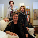 Diana Santantonio, ED.S., psychologist, front, Tina Bizup-Schmidt, right, and Jennifer Povlsen, both co-leaders, have started an eating disorder support group at Psych and Psych Services at …