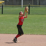 Elyria Little League softball vs. Indiana.        photo by Chuck Humel
