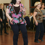 Carolyn Stringer, 56, Boot Scootin' at the Rose Cafe and other venues around the county.