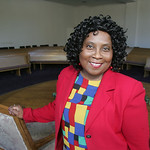 Cynthia Purnell, treasurer of Mt. Zion Baptist Missionary Church.  photo by Chuck Humel