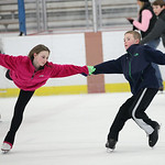 Cade Grant (11) of Avon and Lillie Dubena (11) of North Ridgeville are one of the youngest figure skating pairs in the country. They competed in Ohio, Indiana, Michigan, and New York. Shown …