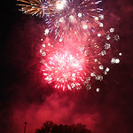 West Park hosted Elyria's first fireworks show Wednesday night since 2008. BRUCE BISHOP/CHRONICLE
