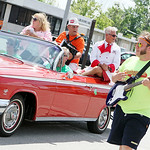 Terry and Tim Kiedrowski, owners of Kiedrowski's Bakery, serve as grand marshals of the parade. ANNA NORRIS/CHRONICLE