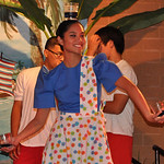 "Laura Deza performs the Binasuan Saturday, June 16, 2012, at Lorain International Festival Filipino cultural night at DeLuca's Place in the Park in Lorain. Binasuan literally means ""with the …"