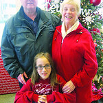 Carl and Linda Purdey have taught their granddaughter, Vanessa Purdey, 9, to think of others first by donating toys every year.