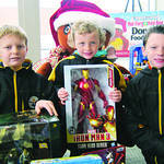 Gramma Kim Burrer took advantage of her grandsons' day off and took them shopping to buy toys for the Not Forgotten Box on behalf of the family business. Pictured are brothers Sabastian, 12, …