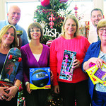 Happy to shop for The Not Forgotten Box are staff from Walthall, Drake & Wallace LLP. Pictured in the front row are Val Rositano, left, Lou Ann Wiegand, Kathryn Stiwald and Linda Dancisko. I …
