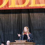 Tracy Chevalier, 1984 Oberlin College graduate and novelist, provides the class of 2013 with advice as they go forth from Oberlin in her speech during commencement exercises on Tappan Square …