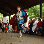 Amherst Vermilion com/ Indian grass dancers perform at the Native American Pow-Wow celebration at Vermilion River Reservation Sep. 26. Steve Manheim