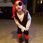 Joseph C. Wilson III, 4,is the fiercest pirate around.