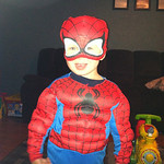 Villans beware, Jaycob, 2, is protecting Lorain County as Spider-Man.