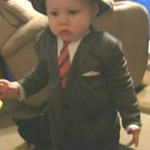 Even at 14 months, Emery recognizes his calling as a businessman.