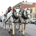 Horse drawn carraige rides were taken around downtown Vermilion at the Ice-A-Fair Feb. 5. Steve Manheim