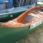 Joe Vormelker of Vermilion had this mid-1950s vintage 16-foot Old Town Canoe restored at Moes Marine Service. Moes Marine Service, Vermilion Boat Club and the city of Vermilion hosted the No …