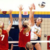 Firelands vs North Ridgeville volleyball : 
