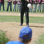 Elyria Mayor Holly Brinda threw out the first pitch at North Rec to kick off the Little League season. Matthew Carpenter, a U.S. Marine who served 4 years, including 10 months in Iraq is and …