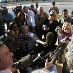 Army Lt. Gen. Robert Cone gives a news conference after a shooting in Fort Hood, Texas on Thursday, Nov. 5, 2009. (AP Photo/Austin American-Statesman, Rodolfo Gonzalez) ** MAGS OUT; NO SALES …