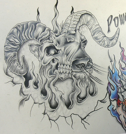 Tattoo Artist And Owner Of Road House Tattoos Greg Baker Drew A