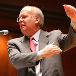 Political strategist and George W. Bush advisor Karl Rove spoke at Finney Chapel on the Oberlin College Campus Tuesday night.  photo by Chuck Humel