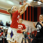 AuBree LaForce of Vermilion shoots the ball in game 2 of Lorain County All Star girls basketball Mar. 19. Steve Manheim