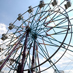 Ferris wheel at Lorain County Fair Aug. 23.  Steve Manheim