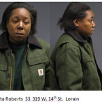 Oneta Roberts, 33, of 319 W. 34th St., Lorain.