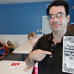 Magician Brad Schreiber teaches a class in magic in Avon. Photo by Tom Mahl