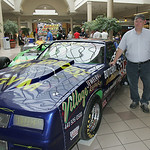 The McCall Race car with a 355 cid Chevy engine under an '82 Cutlass skin.  Owner Steve McCall.    photo by Chuck Humel