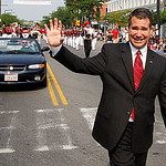 Elyria Mayor Bill Grace. Photo by Tom Mahl