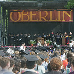 Oberlin College commencement exercises. photo by Chuck Humel