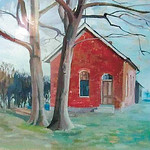 Red Schoolhouse by Gatson.
