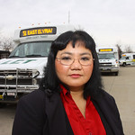 Susan Lilly of Lorain is one of the Lorain County Transit riders who will be in trouble when the buses stop running at the end of the year. She works in Elyria and takes at least six buses a …