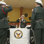 The Lorain High School, Jr. ROTC performed a haunting POW/MIA Ceremony with a table set for the five military branches–the Army, Navy, Air Force, Marines and Coast Guard.  Cadet Cpt. Selena …